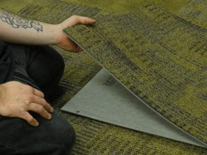 Uses of Inlay in Commercial Flooring