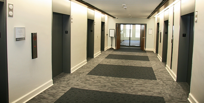 Multi-Tenant lobby carpet