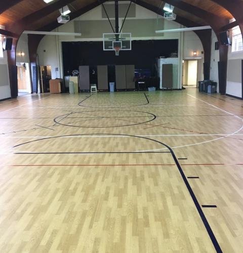Calvary Baptist Church Gymnasium Installation