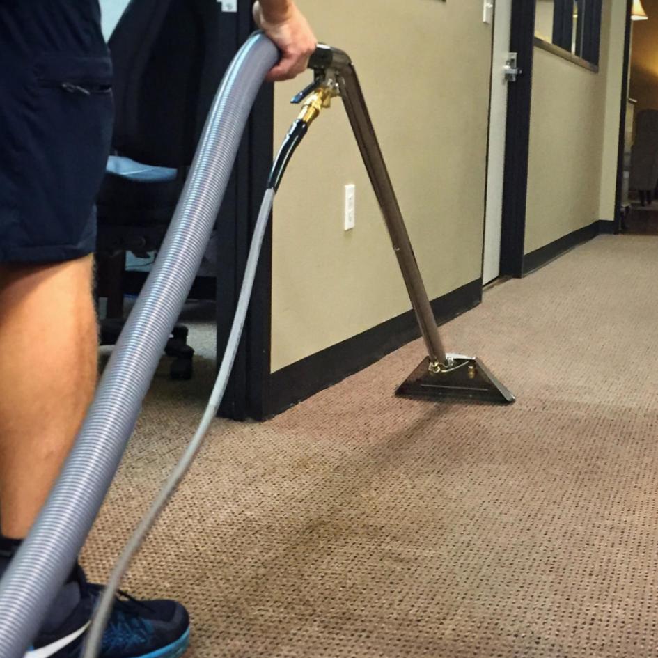 Commercial Carpet Deep Clean