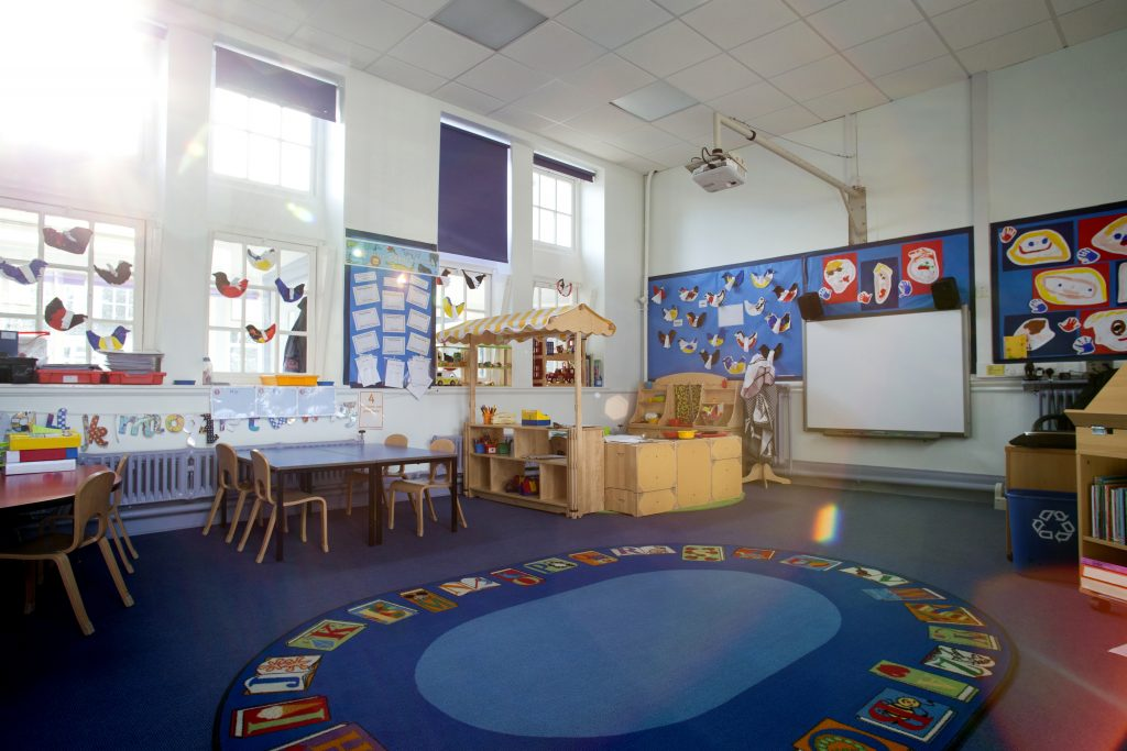 The Benefits of Carpet in Elementary School Classrooms